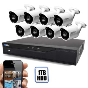Best Vision 16CH 4-in-1 HD DVR Security Camera System (1TB HDD), 8pcs 2MP